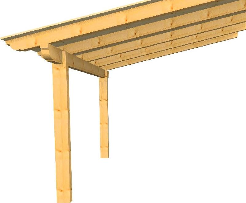 Edil legno s r l prodotti tettoia 4x4 il portale for Costo aggiuntivo per due garage